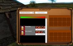 WIP workshop UI