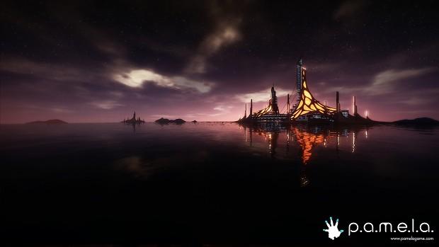 PAMELA pre-alpha screenshots