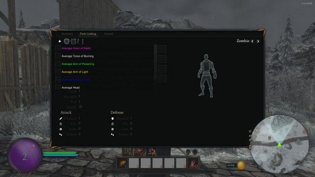 Lord Of Decay Flesh Crafting UI