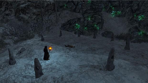 Stone Circle and Crystals
