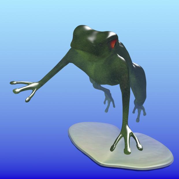 Happy Hoppy Frog