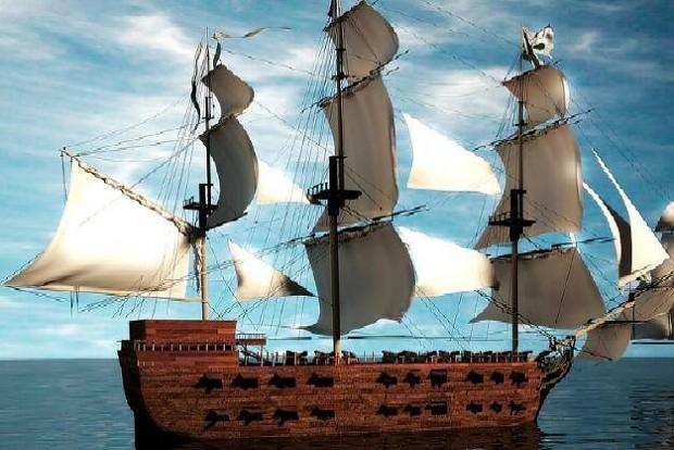 Render of Ship