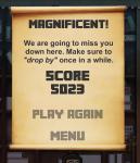 Endgame screen