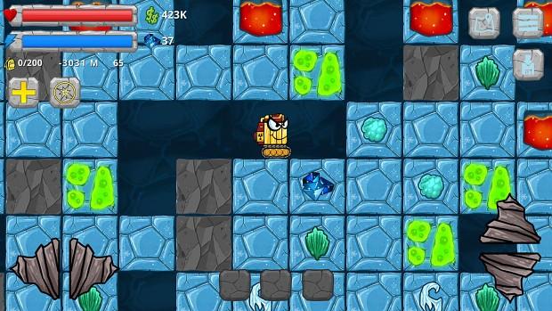 Digger Machine new ice world