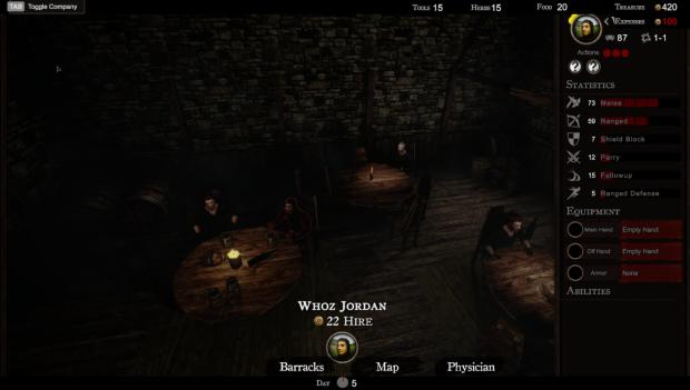Hiring Men at the Tavern