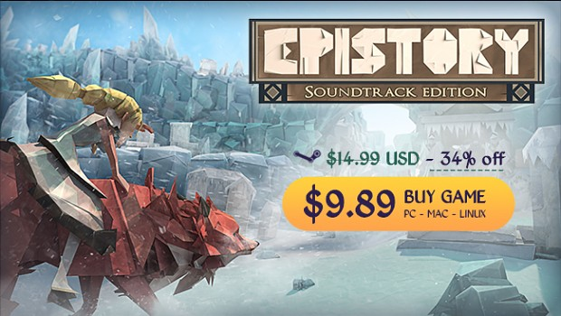 Epistory Steam Summer sales