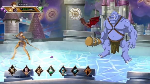 Dream realm battle setup