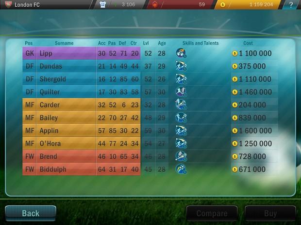 Football Tactics Transfers