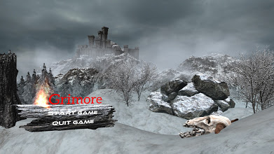 Grimore: Vengeance Build V.0.025 Main Menu
