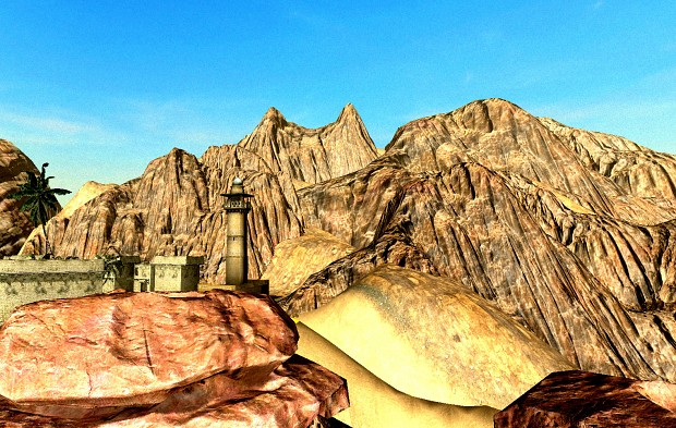 smaller screen from new rock formation