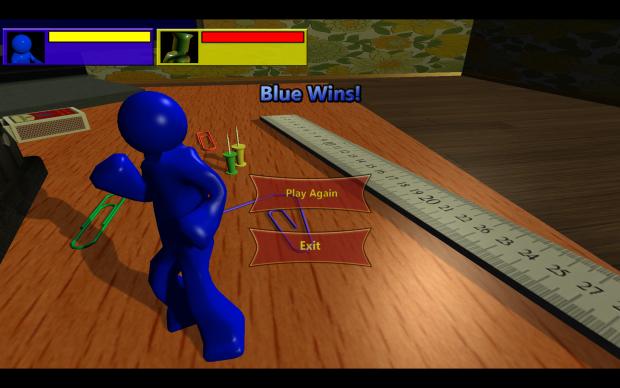 Blue Wins
