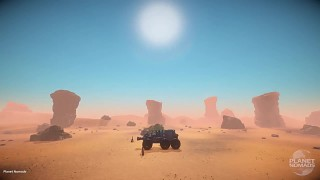 Day/Night Cycle [1st In-Game Video] Planet Nomads