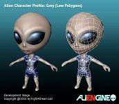 ALIENGINE Character Showcase Grey 02