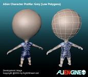 ALIENGINE Character Showcase Grey 03