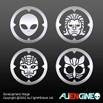 ALIENGINE Character Icons