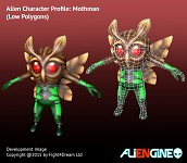 ALIENGINE Character Showcase Mothman 02