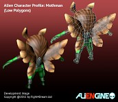 ALIENGINE Character Showcase Mothman 03