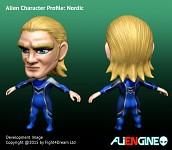 ALIENGINE Character Showcase Nordic 01