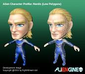 ALIENGINE Character Showcase Nordic 02