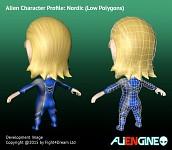 ALIENGINE Character Showcase Nordic 03