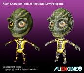 ALIENGINE Character Showcase Reptilian 02