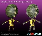 ALIENGINE Character Showcase Reptilian 03