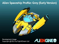 Spaceship Grey Early Version