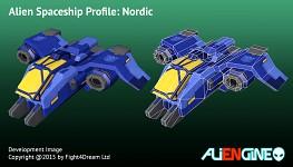 Spaceship Nordic Front