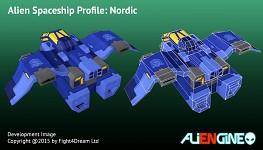 Spaceship Nordic Back