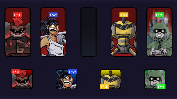The First Four Characters of Grid Masters!
