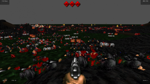 Dead land - what a mess!