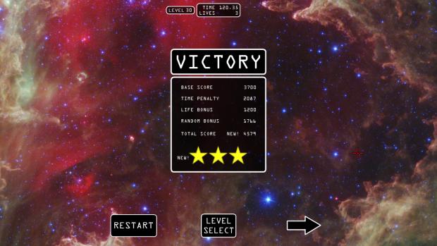 Updated Score Screen