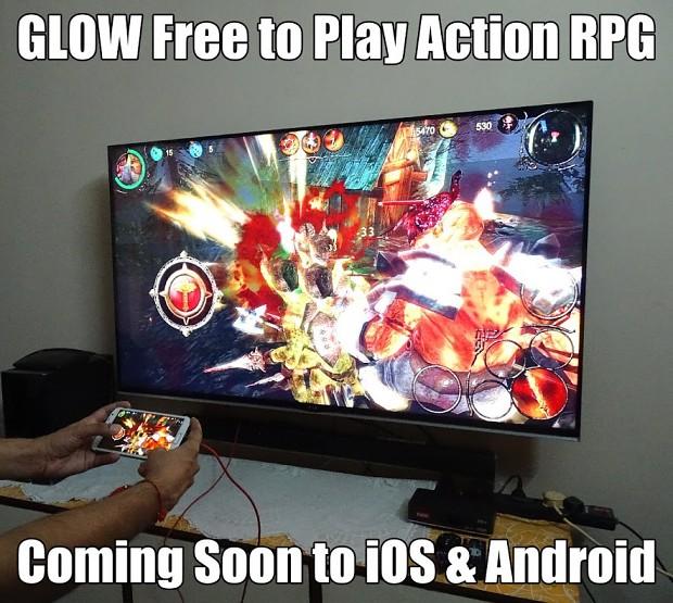 GLOW Mobile Action RPG Beta Testing