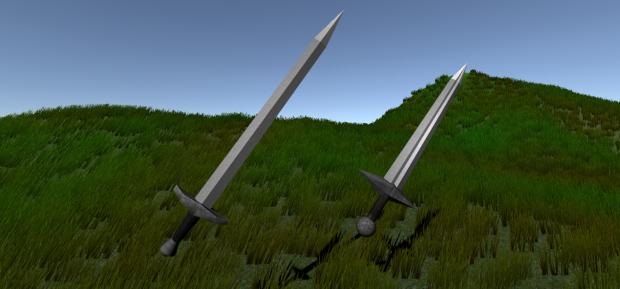 2 sword models