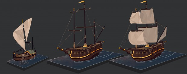 Empires Apart Boats Concept