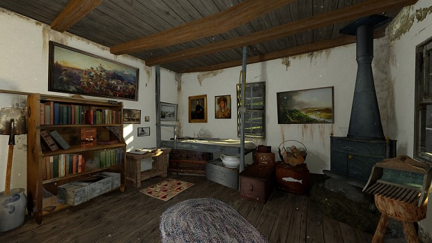 Cabin Interior in Tombeaux