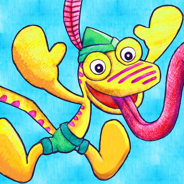 App Button for Chameleon Swing