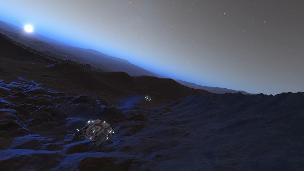Mars-like Moon, Aresthia