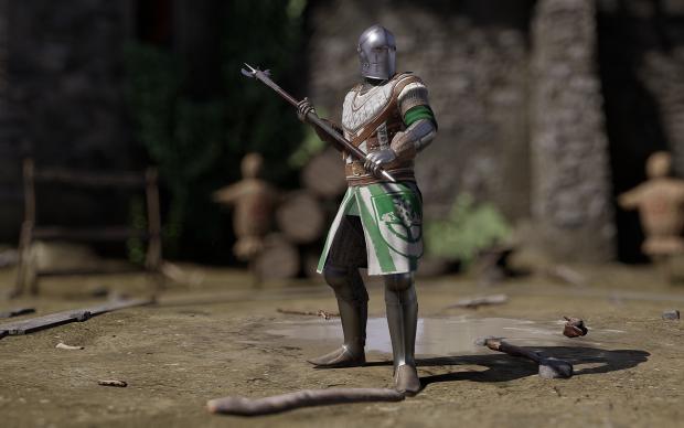 Poleaxe knight