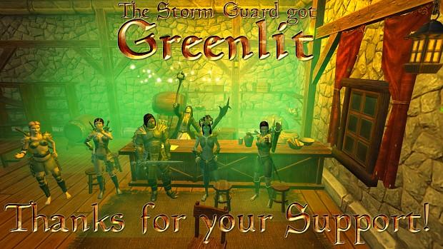 The Storm Guard got Greenlit