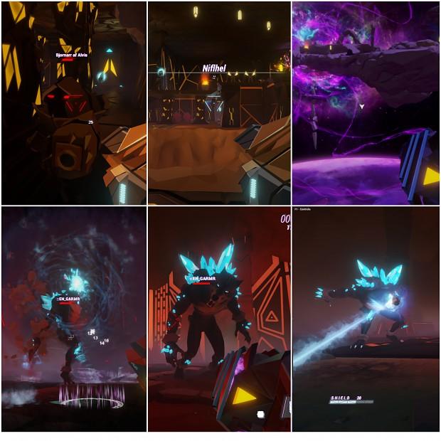 Combat Collage