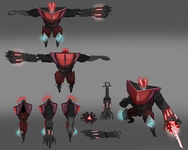 shotgun enemy character sheet