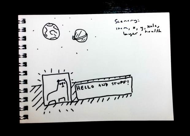 Rough idea sketch 001