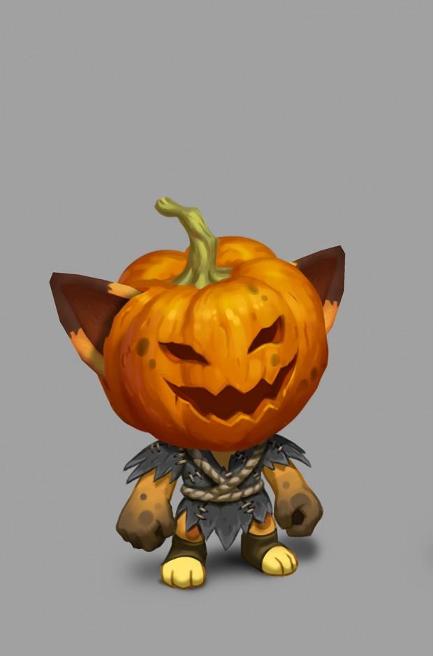 Yoji's halloween skin