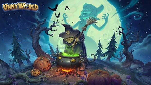 Halloween came to UnnyWorld