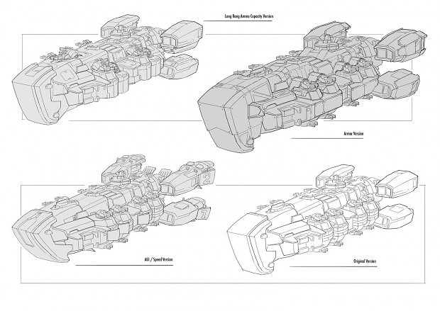 Skyship Aurora modifications