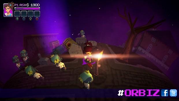 Ash in Action - ORBIZ (4 local co-op multiplayers)