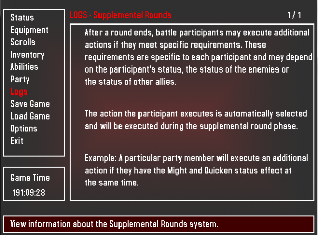 Supplemental Rounds Explanation