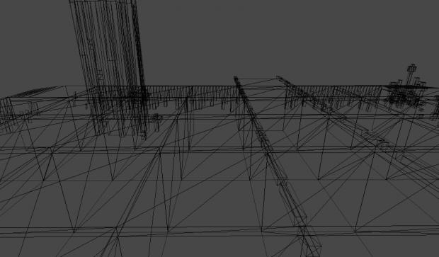 Algorithm for mesh simplification