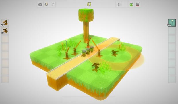 Screenshots tower range in game